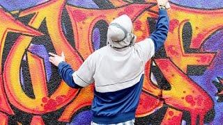 Как делают краску в балончиках для граффити