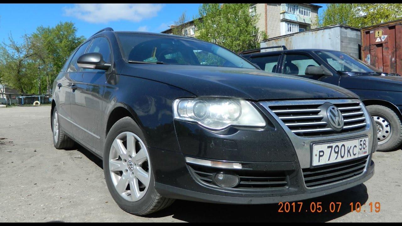 Обзор из Литвы Volkswagen Passat B6 2006, 4500 евро, универсал .