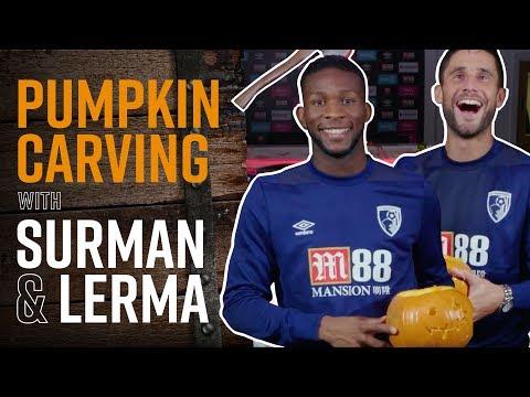 🎃🔪 PUMPKIN CARVING! | Jefferson Lerma takes on Andrew Surman