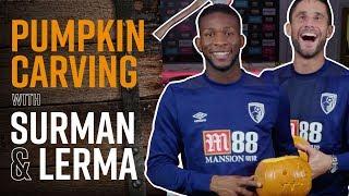 🎃🔪 PUMPKIN CARVING! | Jefferson Lerma takes on Andrew Surman thumbnail