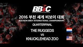 the ruggeds vs knucklehead zoo bbic 2016 quarterfinal