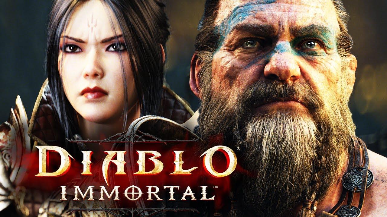 Diablo Immortal : Closed Alpha Gameplay (Samsung Galaxy S20 FE)