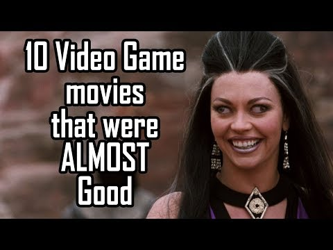 10 Video Game movies that were ALMOST good