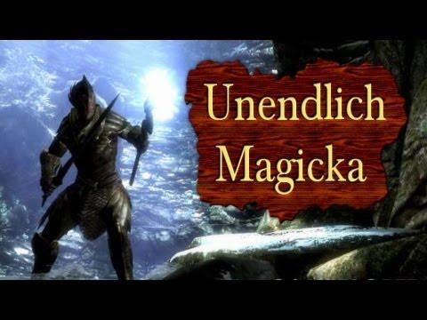 Skyrim - Unendlich Magicka (Zauber kosten keine Magie mehr!) - Tutorial