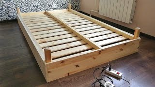 How to make a simple bed with your hands for 50$.