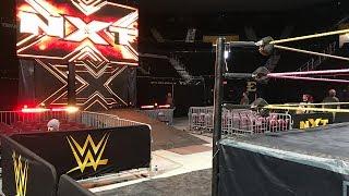 WWE NXT Live 10/22/17 FRONT ROW (Johnson City, TN) | Brandon Hodge Vlog #70