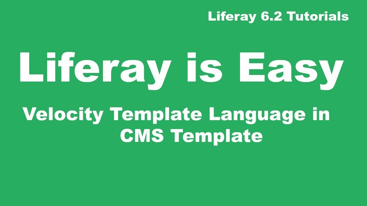 liferay tutorial This feature is not available right now please try again later.