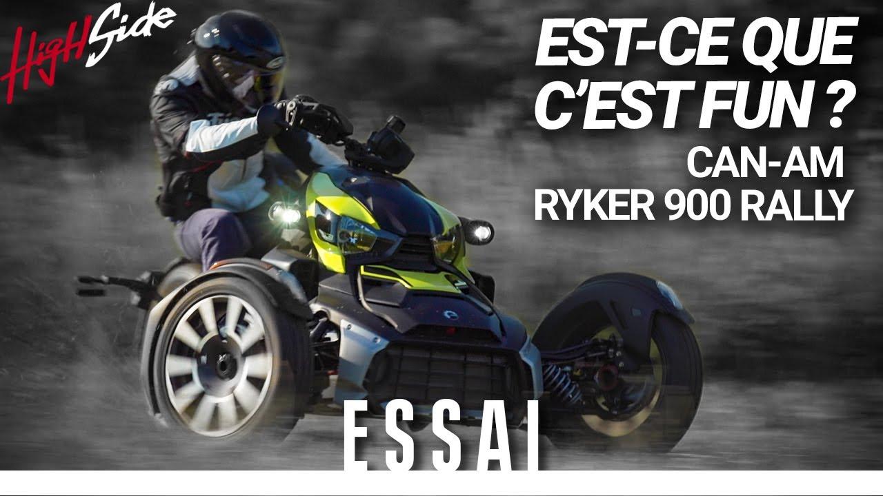 ESSAI : Can-Am Ryker 900 Rally - À quoi sert-il ?