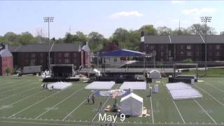 Butler University Commencement & Setup: Time-Lapse