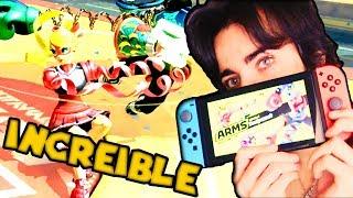 ARMS ES INCREÍBLE - Primeras Impresiones - Nintendo Switch (Global TestPunch)