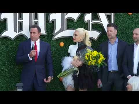 Gwen Stefani Announcing Her Las Vegas Residency, April 13, 2018
