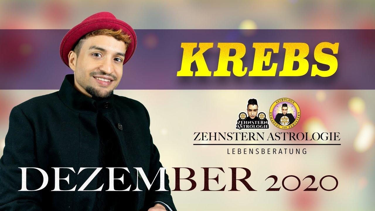 KREBS MONATSHOROSKOP DEZEMBER 2020 | #ZehnsternAstrologie.com