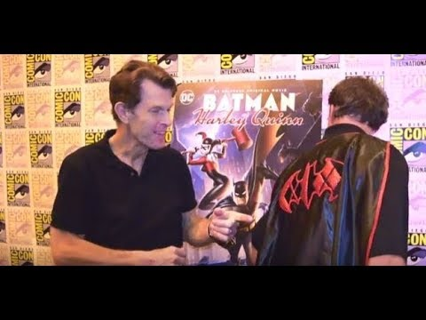 Kevin Conroy (Batman) interview at Batman and Harley Quinn Premiere at SDCC