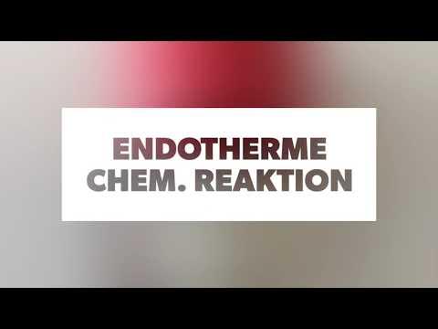 Endotherme Chemische Reaktion