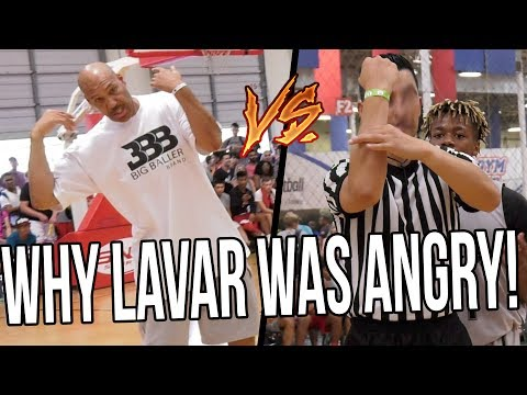 The Reasons Why Lavar Ball Was DONE With Refs & FORFEIT Playoff Game!