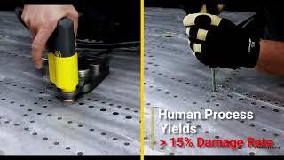 E-drill FST Comparison Test: Titanium Fastener Removal