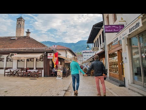 Sarajevo is Amazing! Taking a Long Walk Through the City