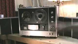 MEGA Recorder - SONY TC 530 Stereo Reel to Reel Tape Recorder