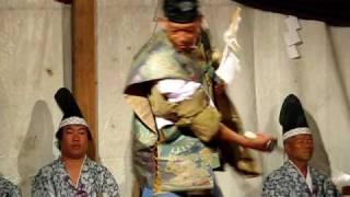 Kagura at Yoshida no Himatsuri, Fujiyoshida, Japan — August 26, 2009 (pt 3)
