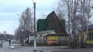 Лесосибирск город в видео Крестовоздвиженский собор, остановки - Орс космос конечная 20-й магазин