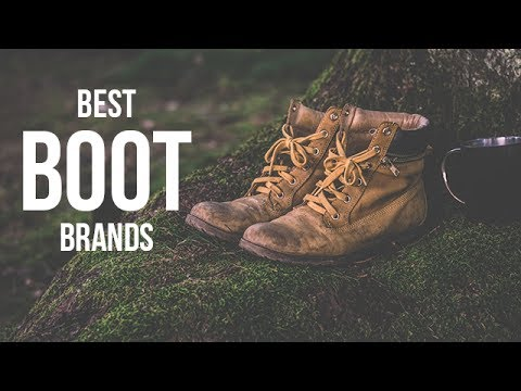 Top 5 Best Boot Brands for Men in 2017