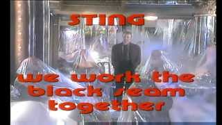 Sting - We work the black seam together 1985