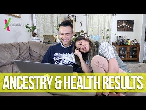 DNA ANCESTRY & DNA HEALTH RISKS? | 23andMe DNA Test Results