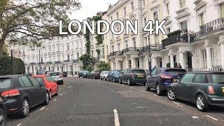 London 4K - Rich Neighborhood Drive