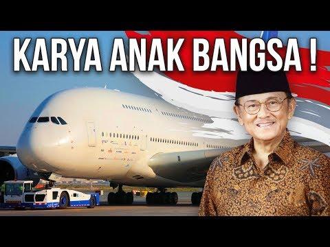 4 PESAWAT BUATAN INDONESIA YANG MENDUNIA