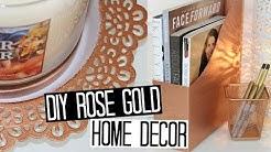 DIY Copper/Rose Gold Decor Ideas
