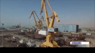 Iran Mangan Industrial Group Co. made Cranes for Coast & Sea p…