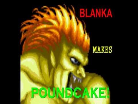 Blanka Makes Pound Cake!