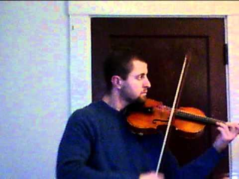 Bach Partita in D minor, Giga - Solo Violin.mov