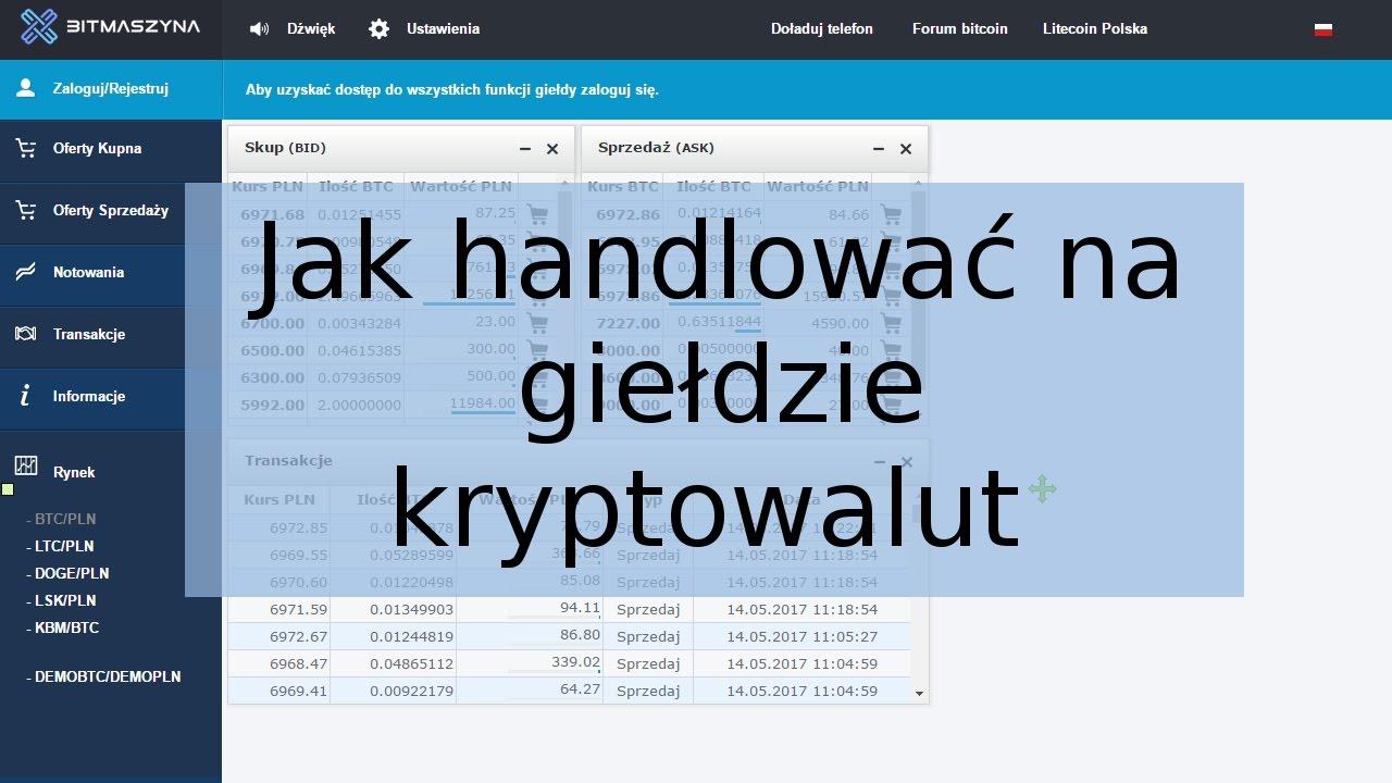 Bitcoin Trading   Handel kryptowalutami   Jak handlować BTC?