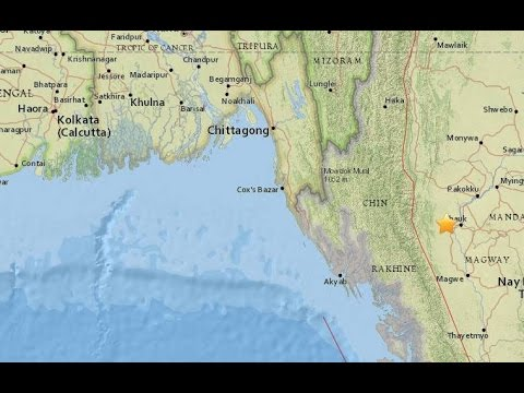 Tremors In East, North-East India As Earthquake Hits Myanmar