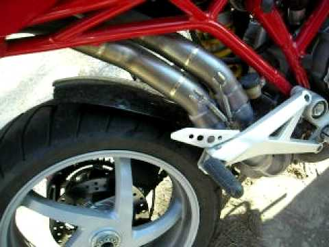 ducati multistrada 1000 ds - my moto, my special exhaust !!! - youtube