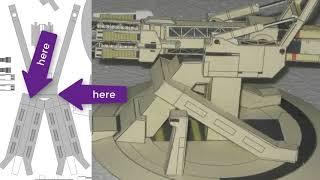 Stonehenge Railgun, model and …