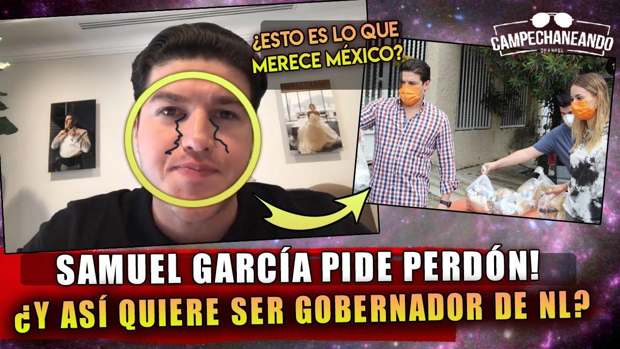 HACE MOMENTOS! SAMUEL GARCIA LLORA PARA QUE LO PERDÓNEN LAS BENDITAS REDES