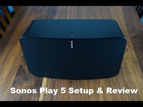 Sonos Play 5 Setup & Review