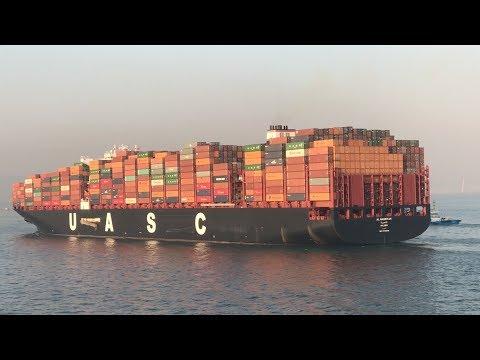 Гиганты Контейнеровозы/ Giant Container Carriers/ВИДЕОДНЕВНИК