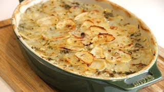 Baked French Potatoes по рецепту Jamie Oliver.Картофель по-французски.Ну очень вкусный!!!!