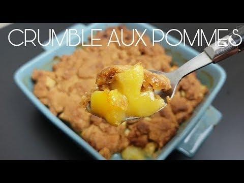 Crumble Aux Pommes Facile Et Rapide 4k Youtube