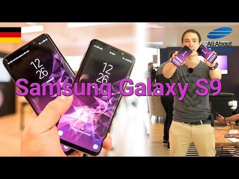 Samsung Galaxy S9 Hands On deutsch 4k