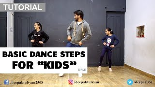 "Basic Dance Steps for ""GIRLS"" kids 