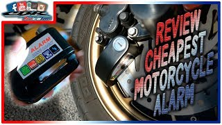 ✍ Review nº4 | Alarm Disk Lock | CHEAPEST alarm for motorcycle!
