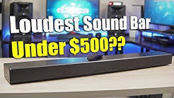 Loudest Sound Bar Under $500 - Samsung HW-MS650 Sound+ Soundbar