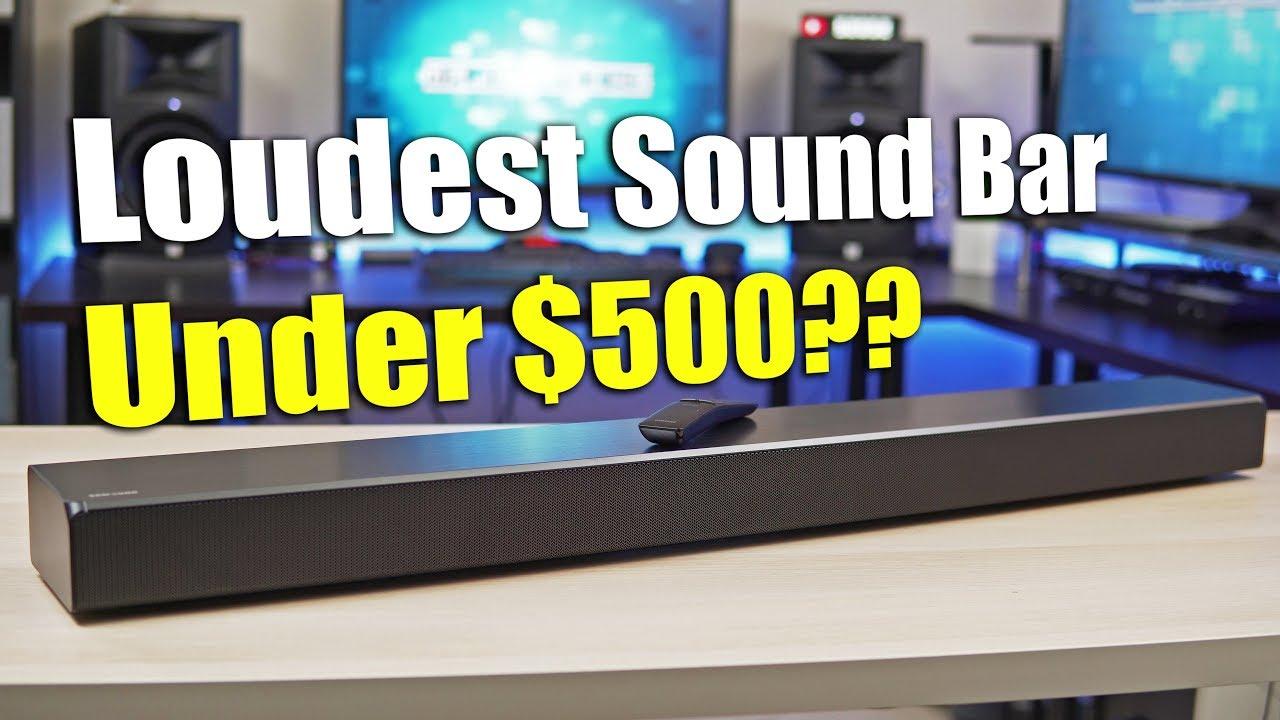 Loudest Sound Bar Under $500 - Samsung HW-MS650 Sound+ Soundbar