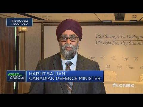Absurd to consider Canada a security risk due to steel: Defense minister | Squawk Box Europe