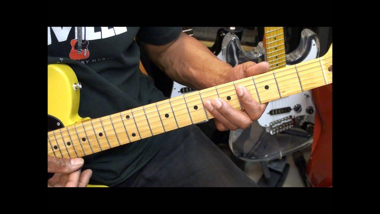 Guitar Chord Form Tutorial 225 Gorillaz Feel Good Inc Style Chord