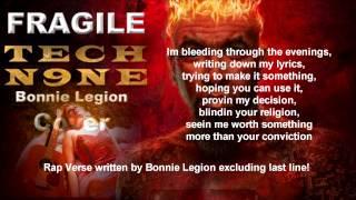 Tech N9ne - Fragile (Lyrics) Cover